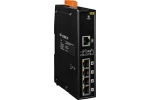 NS-205PSE-24V 5-port 10/100 Mbps Power-over-Ethernet (PoE) Switch 24Vdc