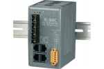 NS-206FC 4 port Ethernet + Dual Fibre Switch (SC)