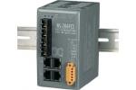 NS-206FCS 4 port Ethernet + Dual Fibre Switch (SC) - 15km