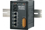 NSM-205FC 4 port Ethernet + Fibre Switch (SC) - Rugged