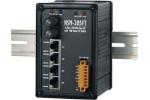 NSM-205FT 4 port Ethernet + FX Fibre Switch (ST) - Rugged