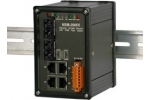 NSM-206FC 4 port Ethernet + Dual Fibre Switch (SC) - Rugged