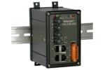 NSM-206FT 4 port Ethernet + Dual Fibre Switch (ST) - Rugged