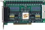 PCI-P16POR16 16Ch Isolated Dig IP, 16Ch PhotoMOS Relay OP Board