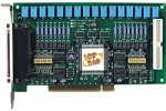 PCI-P16R16 16Ch Isolated Digital IP, 16Ch Form C Relay OP Board