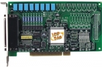 PCI-P8R8 8Ch Isolated Digital IP, 8Ch Form C Relay Output Board