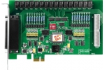 PEX-P8R8i  8ch Isolated Digital Input/8ch Relay output card (PCI Express)