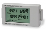 USB-5104  High-Accuracy, Battery-Powered 4-Channel Thermocouple Data Logger
