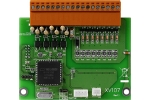 XV107  Isolated 8 Digital Input + 8 Digital Output Daughter Board