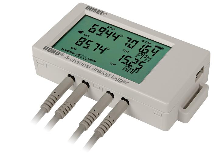 Pc Data Logger : Hobo ux m analog input channel data logger